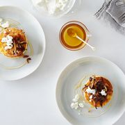 6847c864 39cb 496b 8730 0d98d4ea6225  2016 0330 polenta cakes with caramelized onions goat cheese and honey alpha smoot 370