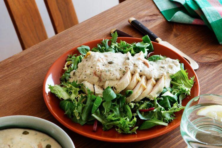 Chicken Tonnato Salad