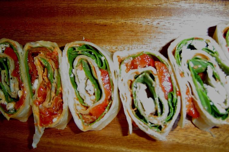 Savory eye candy rolls