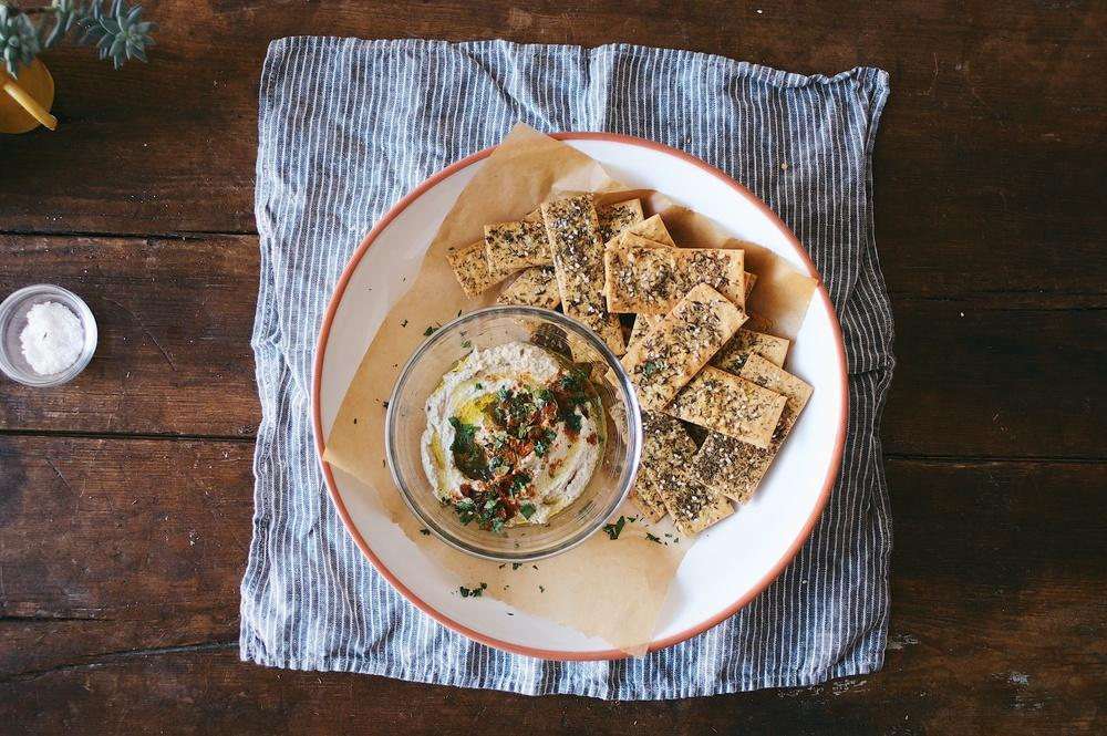 Chickpea Crackers