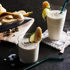 Banana Cardamom Milkshake
