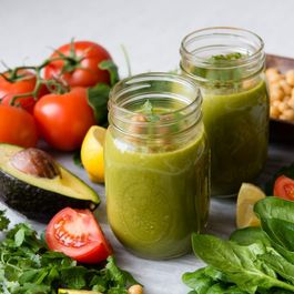 Slow-Carb Green Smoothie: Protein Fiesta