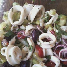 Italian Calamari Salad