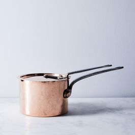 Vintage Copper American Saucepan, Late 19th Century