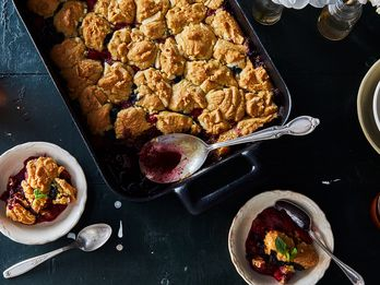 A Cobbler Topped with COOKIES (Cue Singing Angels)
