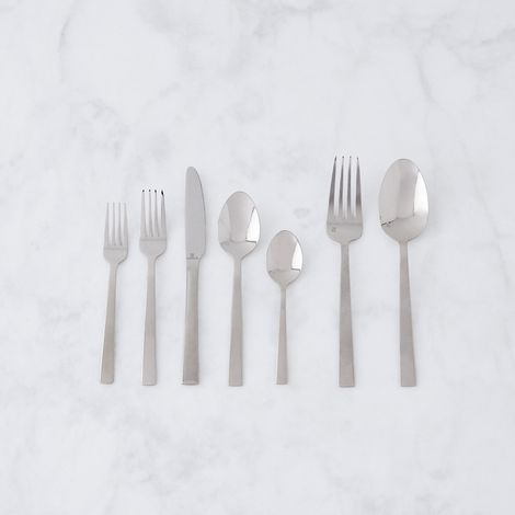 Lightweight Stainless Steel Party Flatware (42-Piece Set)