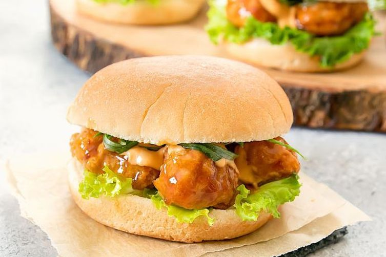 General Tso's Chicken Sliders