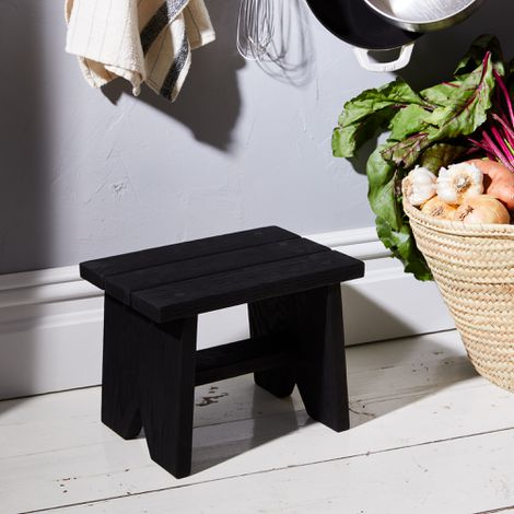 Handcrafted Wooden Step Stool