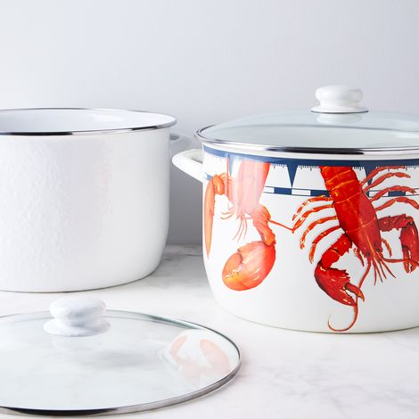 Enameled Lobster & Stock Pot, 18QT