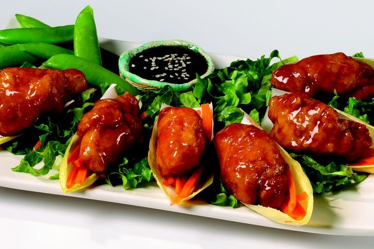 Sweet Chili Chicken Appetizer Platter
