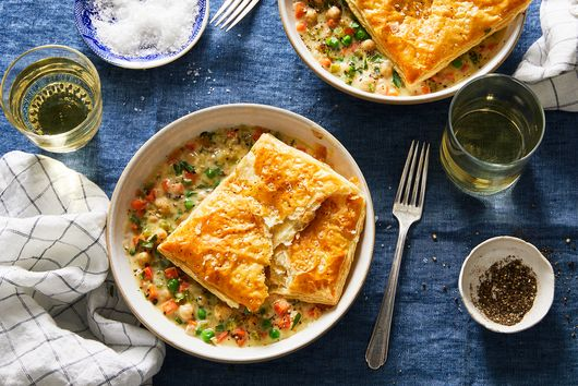 This Vegetarian Chickpea Pot Pie Is So Good, You'll Be Like 'Chicken, Who?'