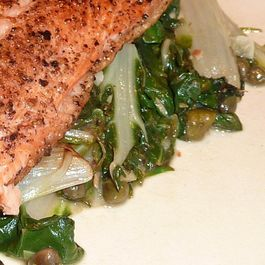 F1550649 1a4f 48b7 b483 004e727d3551  lemon chard with fried capers and garlic medium