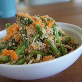 Quinoa Pilaf with Citrus-Soy Dressing