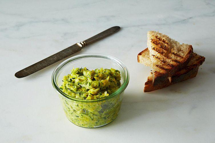 Zucchini butter
