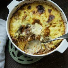 Pane Carasau and Lamb Deep Dish Lasagna