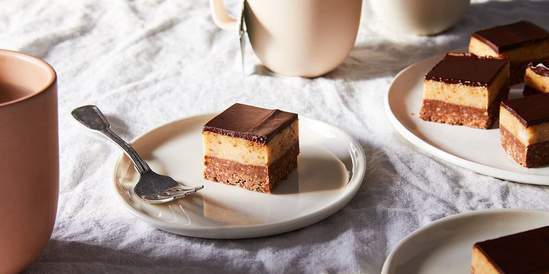 Luscious layers of chocolate and hazelnut.