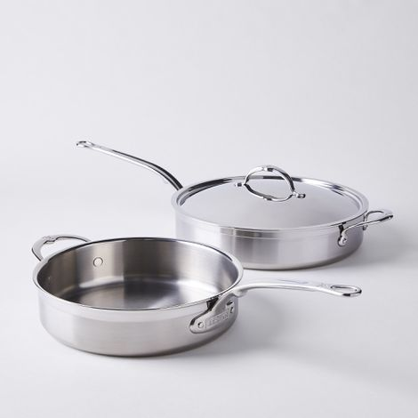 Hestan Probond Forged Stainless Steel Sauté Pan with Lid