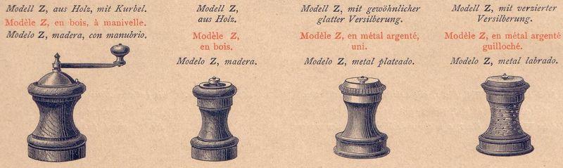 """Peugeot's """"Modèle Z,"""" 1874."""