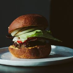 My Classic Burger with Special Sauce