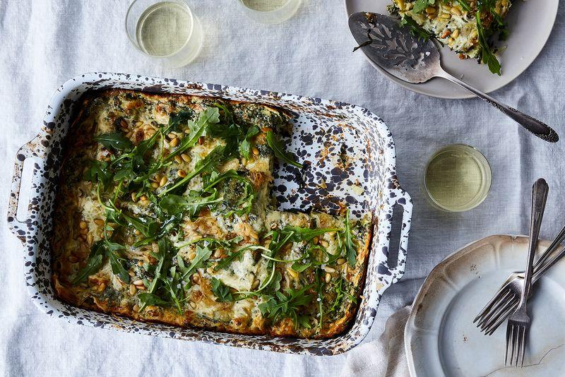 Arugula Lasagna