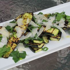 Grilled Zucchini Salad