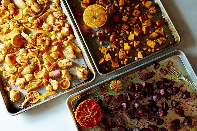 f0bdc9e1 70c6 4d4f aaab 8cfa02ca3720  2015 0929 roasted vegetable salads james ransom 004 Two Weeks Worth of Genius 5ish Ingredient Dinner Ideas