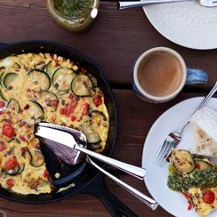 Summer Bounty Frittata