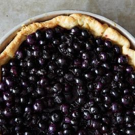 Rose Levy Beranbaum's Fresh Blueberry Pie