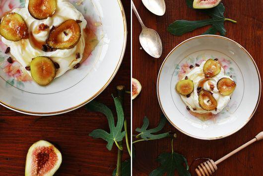Caramelized Figs & Yogurt