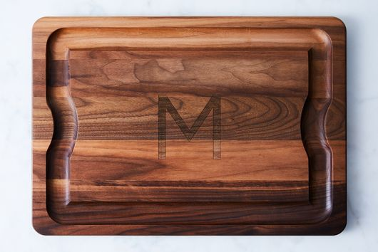 Monogram Walnut BBQ Board