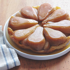 A Not-So-Classic Tarte Tatin,  Made with Maple Syrup Instead of Sugar