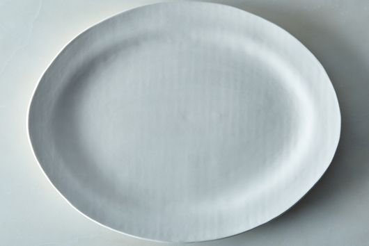 Food52 Handmade Oval Serving Platter, by Looks Like White