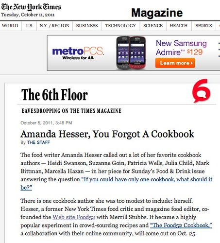 NY Times: 6th Floor
