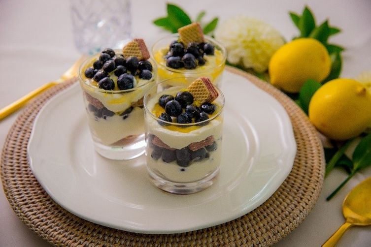Blueberry-Yoghurt Parfait