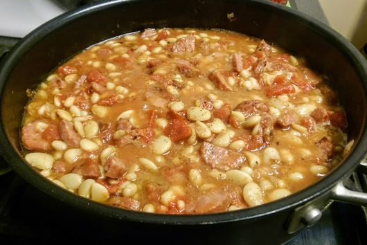 Toulouse Sausage and White Bean Stew