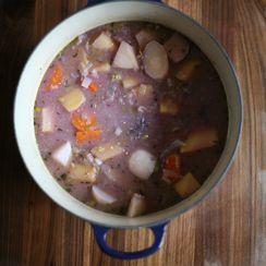 Root Vegetable Miso Stew