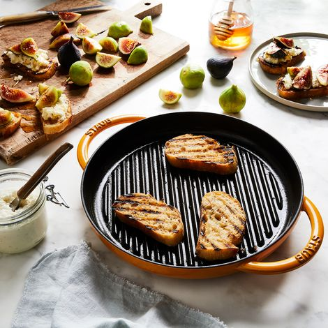 Staub Round Double Handle Pure Grill Pan, 10""
