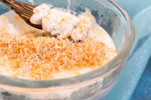 No-Churn Coconut Ice Cream
