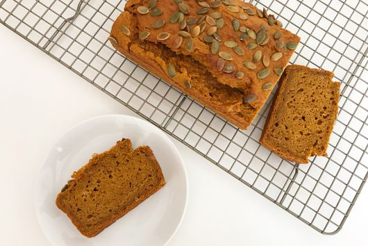 Vegan Spiced Pumpkin Loaf