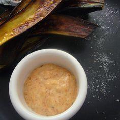 Simple Roasted Eggplant with Berberé Aioli