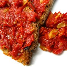 Double Duty Tomatoes:  Zesty Tomato Water and Roasted Tomato Relish