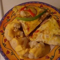 Mexican Breakfast Torta with Potatoes