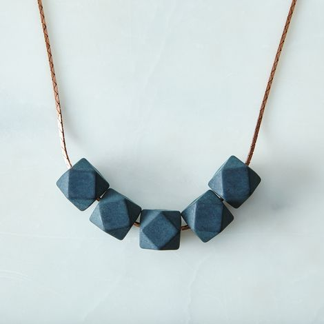 Slate Delta Necklace