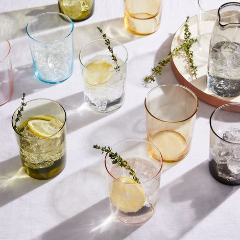 Handblown Chroma Glassware (Set of 6)