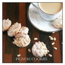 Italian Pignoli Cookie