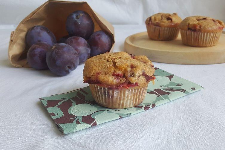 Plumpkin (Plum + Pumpkin) Muffins