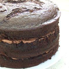 Mary Herbert's Triple Layer Chocolate Cake with Chocolate Buttercream