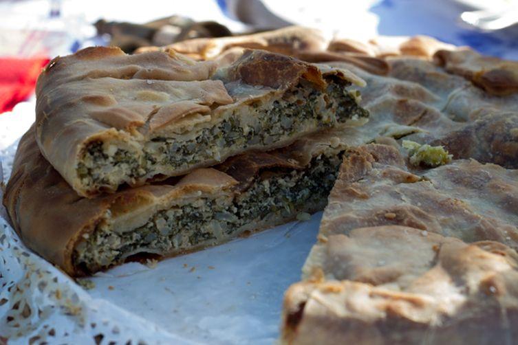Artichoke, Chard & Ricotta Pie (Torta Verde)- Liguria, Antipasto (Starter)
