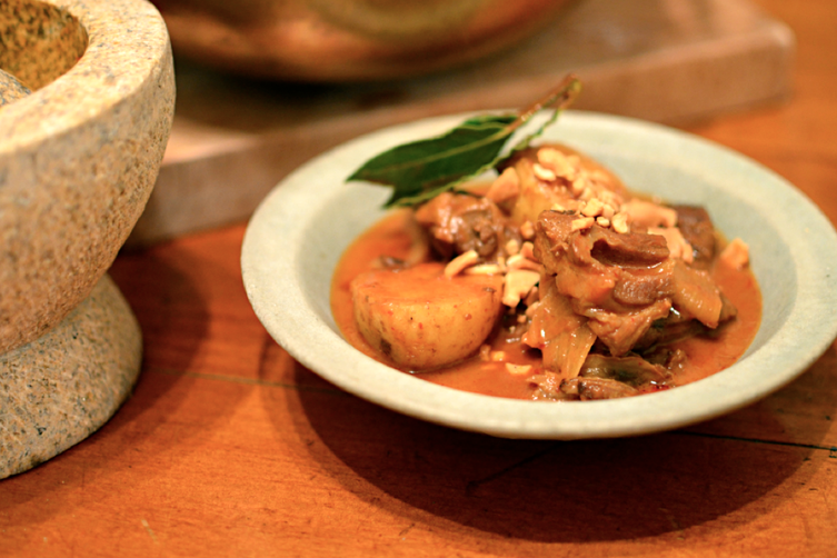 THAI MASSAMUN CURRY OF LAMB  ( ????????????? )
