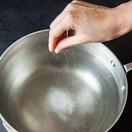 A Tip for Salting Pasta Water